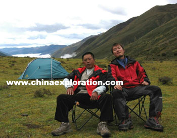 Trekking tour leader