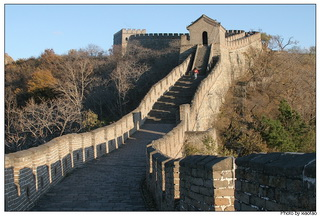 Great Wall of Mutianyu in winter