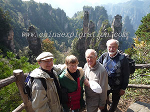 Zhangjiajie-Group-in-2010