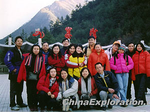 Jiuzhaigou-Sightseeing